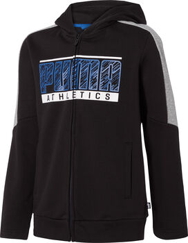 Puma Sudadera Boy Hooded Zip Jacket Fleece hombre