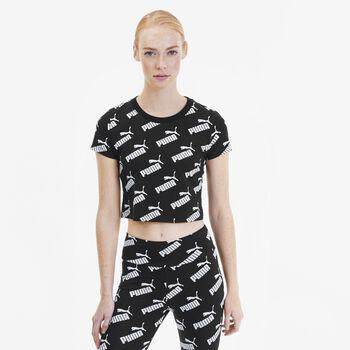 Puma Camiseta Manga Corta Amplified AOP Fitted  mujer