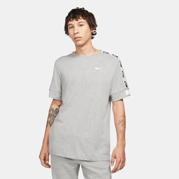 Nike Camiseta Manga Corta Repeat hombre Negro