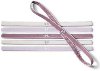 Under Armour Minicintas para el pelo UA para mujer – Paquete de 6 Púrpura