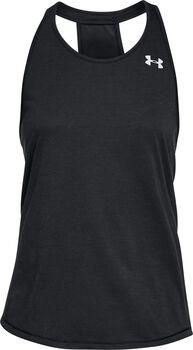 Under Armour Camiseta sin mangas UA Swyft Racer para mujer Negro