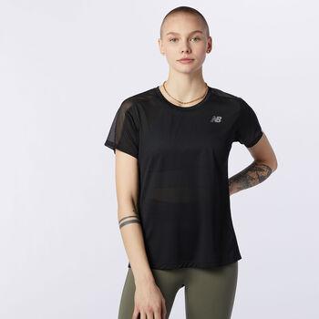 New Balance Camiseta Manga Corta Impact mujer