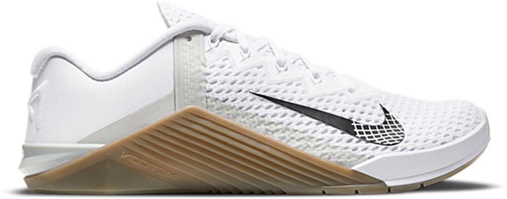 Nike -  Metcon 6 - Hombre - Zapatillas Fitness - Blanco - 41