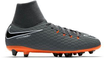Botas fútbol Nike Hypervenom Phantom 3 Academy  DF AGPRO Niños Gris
