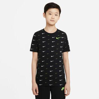 Camiseta Nike Sportswear manga corta niños Negro