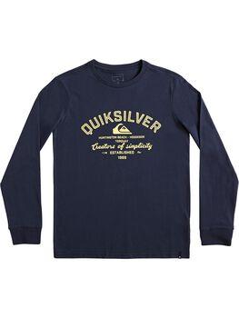 Quiksilver Camiseta manga larga creator of simplicity niño
