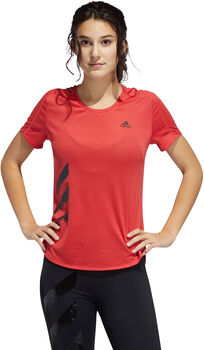 adidas Camiseta Run It Fast 3 bandas mujer