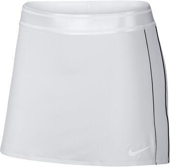 Nike Falda W NKCT DRY SKIRT STR mujer Blanco