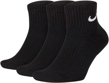 Nike Calcetines Tobilleros Everyday (3 Pares) Negro