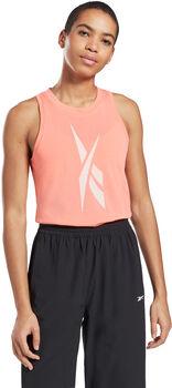 Reebok Camiseta Sin Mangas Workout Ready Supremium Big Logo mujer