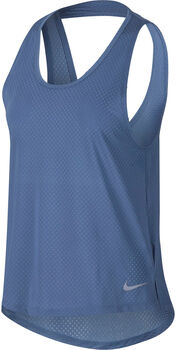 Nike Camiseta sin mangas Breathe Dri-FIT Miler mujer Azul