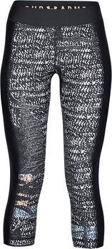 Under Armour Pantalón capri HeatGear® Armour estampado para mujer