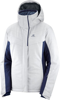 Salomon Chaqueta STRIKE JKT W-White-Night Sky- mujer