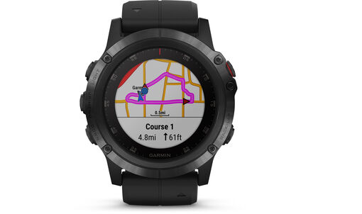 Garmin - Fenix 5x Plus - Unisex - Wearables - TU