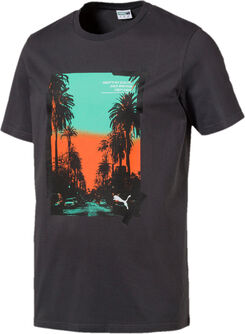 Camiseta Graphic Palms Photo