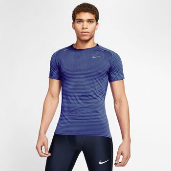 Nike Camiseta Manga Corta TechKnit Ultra Runn hombre
