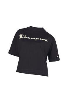 Champion Camiseta Manga Corta Crop mujer