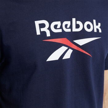 Reebok Camiseta de manga corta vector hombre