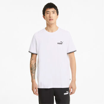 Puma Camiseta Manga Corta Amplified hombre Blanco