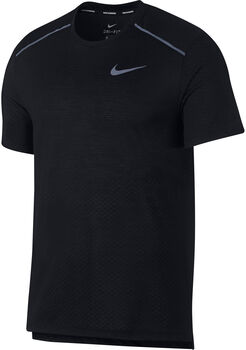 Nike Camiseta m/c M NK BRTHE RISE 365 SS hombre Negro