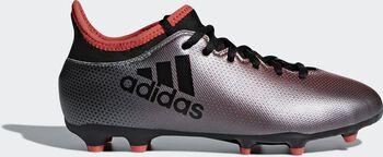 Botas fútbol adidas X 17.3 FG Niños Gris