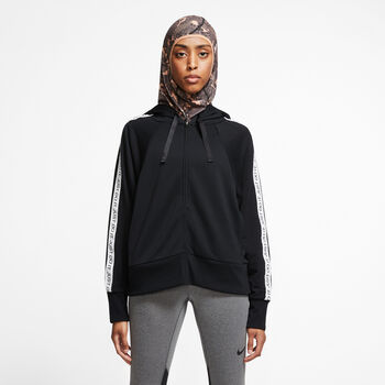 Nike Sudadera m/lNK DRY GET FIT mujer Negro