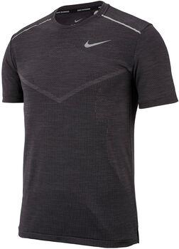 Nike M NK TECHKNIT CL ULTRA TOP SS hombre Negro