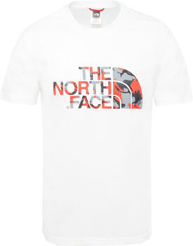 The North Face Camiseta Extent II Logo hombre Blanco