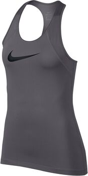 Nike Pro Tank All Over Mesh Mujer Gris