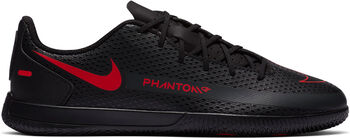 Nike Zapatillas Phantom GT Club IC niño Negro
