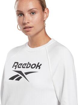Reebok Sudadera Big Vector Crew mujer
