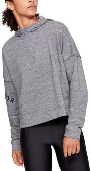 Under Armour Sudadera Rival Terry mujer Gris