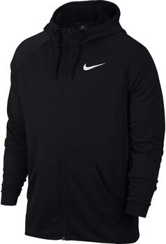 Nike SudaderaNK DRY HOODIE FZ FLEECE hombre Negro
