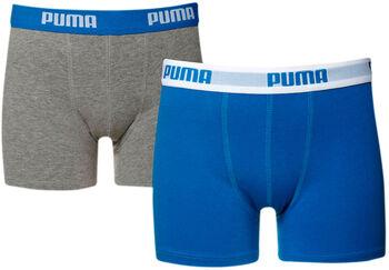 Puma 2-Pack Boxers Basic niño Azul