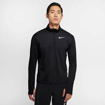 Nike Camiseta Manga Larga Pacer hombre Negro