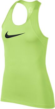 Nike Pro Tank All Over Mesh Mujer Amarillo