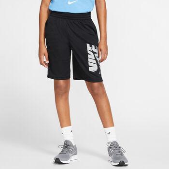 Nike Pantalón corto training sho niño Negro