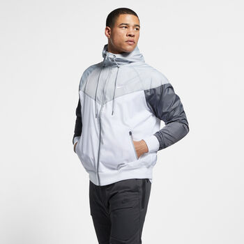 Nike Chaqueta NSW Windrunner hombre Blanco