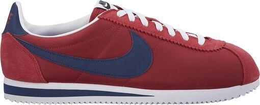 Nike - Nike Classic Cortez Nylon Hombre - Hombre - Sneakers - Rojo - 44