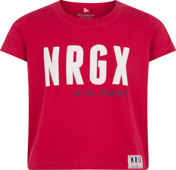 ENERGETICS Camiseta m/c Lorraille jrs niña Rojo