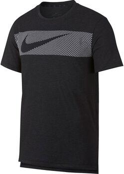 Nike Camiseta de manga corta de entrenamiento Dri-FIT Breathe hombre Negro