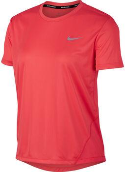 Nike W NK MILER TOP SS mujer Naranja