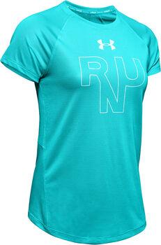 Under Armour Camiseta m/c  Qlifier RUN Short Sleeve mujer