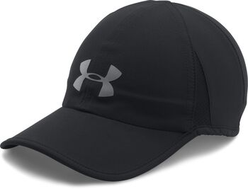 Under Armour Gorra de running UA Shadow 4.0 para hombre Negro d98585a5cd5