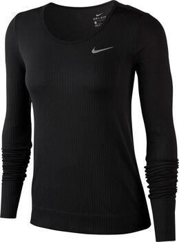 Nike Camiseta m/lNK INFINITE TOP LS mujer Negro