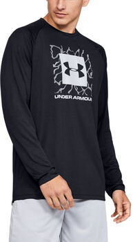 Under Armour Camiseta de manga larga UA Tech™ 2.0 Graphic para hombre Negro