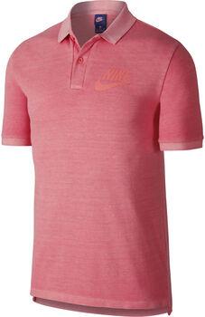 Nike polo pq wash hbr Hombre Naranja