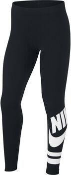 Nike Sportswear graphic leggings niña Negro