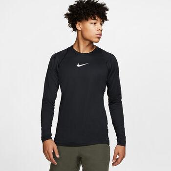 Nike Camiseta m/lNK AEROADPT TOP LS NPC hombre Negro