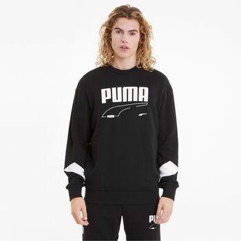 Puma Sudadera Rebel Crew hombre Negro